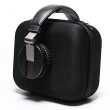 Hard Zipper Headphone Earphone Case Headset Carry Pouch Storage Bag Data Line USB Cable SD Card Organizer Carrying Pouch Box