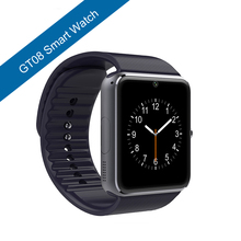 Smartwatch Bluetooth GT08 Smart watch With Camera Support SIM TF Card for Apple iPhone IOS Android Phone Sport Watch PK DZ09 U8