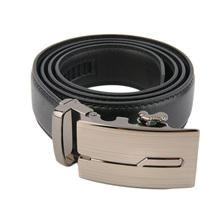Classical Men's Automatic Belt Black Male Buckle Leather Belts Fashionable Business Waist Strap Belt For Men 2017 New Arrival