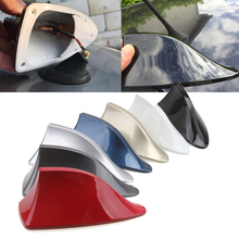 Gray/Blue/Gold/Silver/Black/Red/ White Car SUV Truck Shark Fin Antenna Radio Signal Aerial Fit for VW Polo Nissan Ford Lada(China)