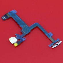 5pcs For iPhone 6 Plus 5.5'' High performance Power On Off Mic LED Light Flash Flex Cable Replacement Part