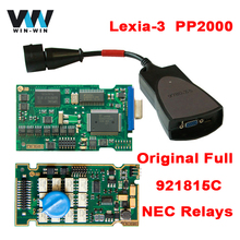 Lexia 3 v7.83 PP2000 with 921815C Full Chip Lexia3 V48 PP2000 V25 For Citroen/Peugeot Diagbox 7.83 FULL CHIP Diagnostic Tool
