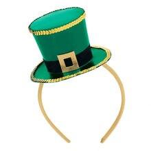 Saint Patrick CostumeTop sombrero diadema Irlanda partido verde irlandés  sombreros de día de st patrick( a279f012240