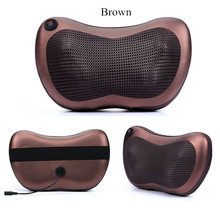 Home Car Dual-use Multifunction Massager Auto Massage Pillow Cervical Lumbar Leg Neck Massager Infrared Heating Body Massager