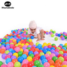 50/100 Piece Eco-Friendly Colorful Soft Plastic Stress Air Ball Funny Ocean Balls Toys Outdoor Fun Sports for Play Pit Baby Pool(China)