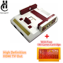 High Definition HDMI TV Out Video Game Console For FC nes Classic mini 8 bit games with free 268 games wireless gamepad(China)