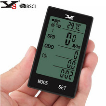 YS Bicycle Wireless Computer Bike Speedometer Temperature Display Multifunction Waterproof Auto Cycling Odometer(China)