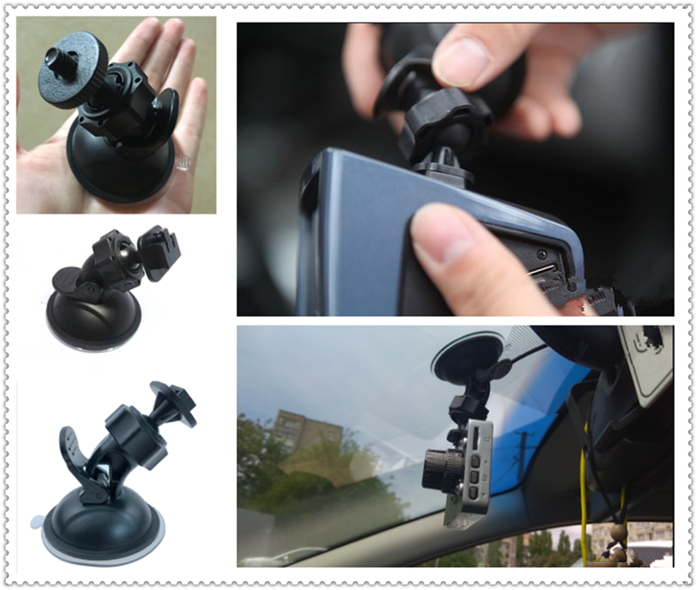 Car SUV accessories video recorder suction cup mounting bracket for Ford Transit Ranger Mustang Ka Fusion Focus F-150