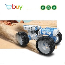 DIY Science Robot Solar Toys Kits Model Building Blocks Water Powered Vehicle Brine Assembly Car Children Kids Educational Toys