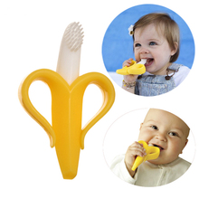 Baby Banana Infant Training Toothbrush and Teether Baby Toys  Lovely Cartoon Best Gift To Kids