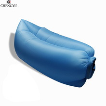 Beach Portable Outdoor Furniture Air Bed Inflatable Garden Sleeping Bag Camping Air Sofa Polyester Lazy Bag Environmental