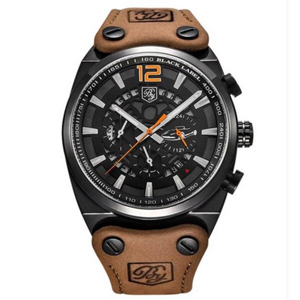 BENYAR Sport Men Watches Quartz Man Outdoor Big Dial Watch Male Clock Male black yellow<br>
