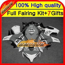 Body For HONDA CBR 1000RR Repsol 1000 RR 2008 2009 2010 2011 40HM80 CBR1000 RR 08-11 Grey white CBR1000RR 08 09 10 11 Fairing