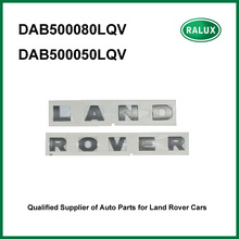 Free shipping DAB500050LQV DAB500080LQV front car name plate for Discovery 3/4 auto letter sticker spare parts factory retailer(China)