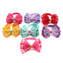 Armi store Handmade Mesh Cloth Dog Tie Bows Ties For Dogs 6031067 Pet Collar Bow Wholesale