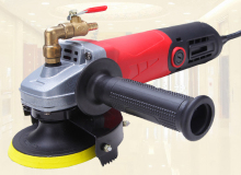 "Electric Stone Wet Polisher Portable Water - Filled 4"" 2.2KG Electric Grinder for Marble Polishing Electrical Plug sent"