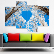 The giving tree scenery picture 100% printed on canvas diamond painting cross stitch 3D DIY diamond embroidery mosaic pattern(China)