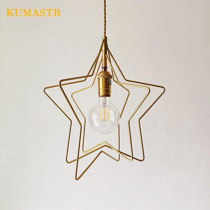 Copper Pendant Light 1