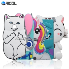 Stitch Case For Huawei P8 Lite 2017 Cute Cat Soft Case For Huawei Honor 8 Lite / Nova Lite Rabbit Dog Bottle Horse Cover