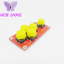 10pcs AD Keyboard Simulate Five Key Module Analog Button for Arduino Sensor Expansion Board(China)