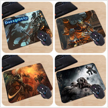 Black Demon in Darksider Fire Horseman Chains Personalized Silicon Mouse Pad Amazing Rectangular Mice Mats for Computer Notebook(China)