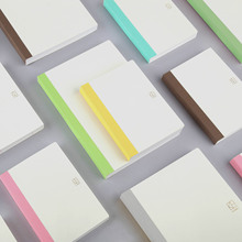Creative new colored school office fitted notebook stationery,can also be used for hobo inner paper core thick,7 kinds A5 A6(China)
