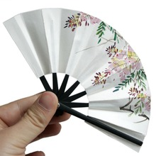 [wamami] 8# Flower Paper Fan 10CM Chinese/Japanese Style For 1/3 SD17 BJD Dollfie