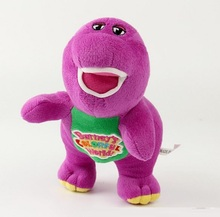 Cute Little Toy Dinosaur Barney and Friends Plush Toys Doll for  Kids Birthday Christmas Party Gifts, can singing