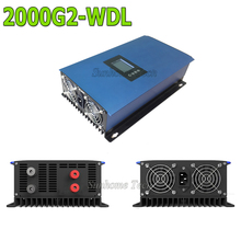 2000W DC wind turbine generator grid tie inverter with LCD&Dump Load resistor,45-90V to AC230V MPPT Pure Sine Wave