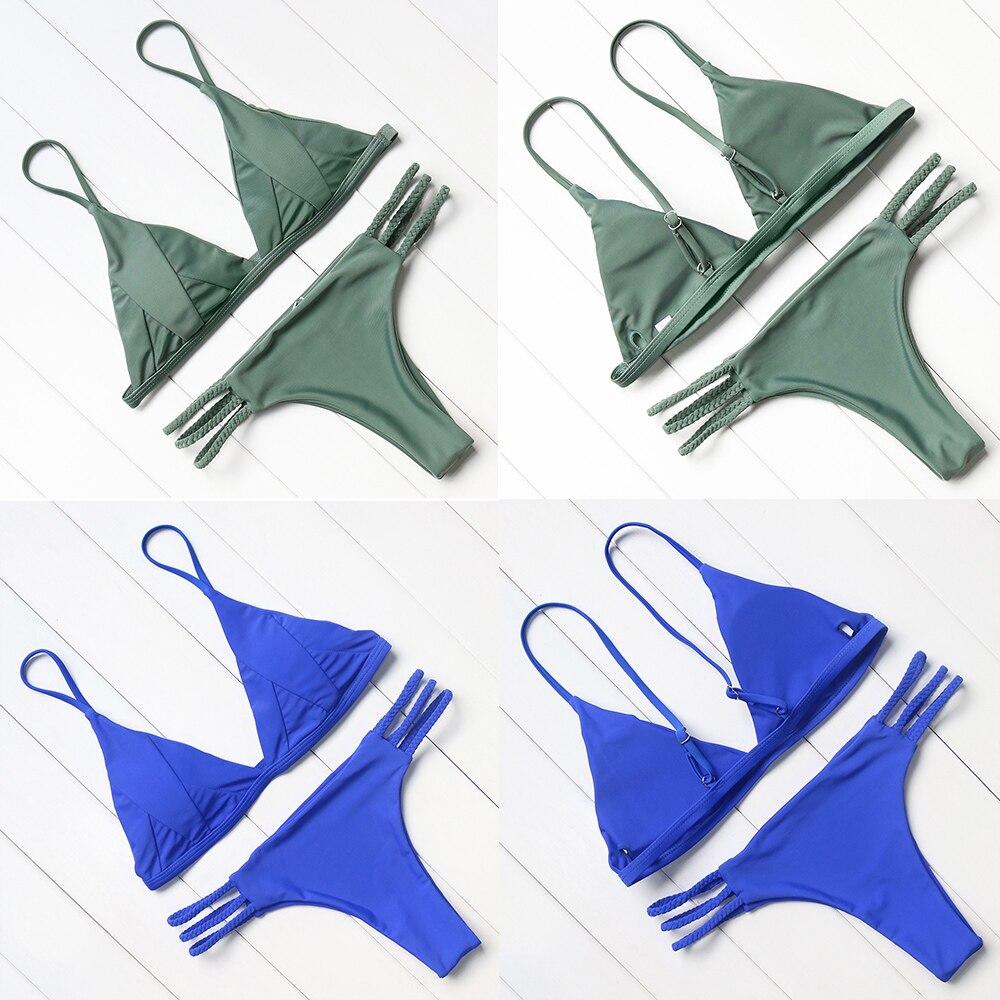 Hot Sexy Brazilian Bikini 19 Swimwear Women Swimsuit Bathing Suit Biquini Bikini Set Bandage Swim Suit Maillot De Bain Femme 19