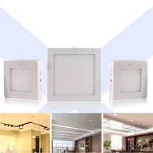 Energy Saving 6/12/18/24W LED Ceiling Mounted Down Panel Light  Kitchen Bathroom Market Wall Lamp  FULI