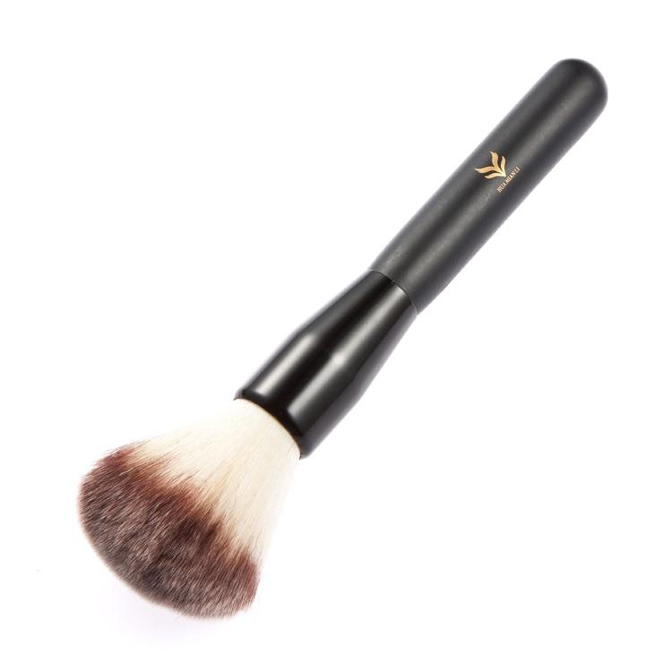 HUAMIANLI Professional Nude Foundation Makeup Soft Brushes Set Black Wood Handle Make Up Face Powder Brush Cosmetics Makeup Tool<br>