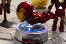 MK2/MK3 Magnetic Floating Iron Man Stage Decorations Furnishing Articles Toy Gifts flight iron Man Rotation