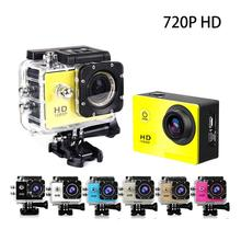 EastVita Outdoor Waterproof Sport Action Camera 720P HD Cycling Mini Digital Video Camera Car Bike DVR Recorder add Monopod AR30