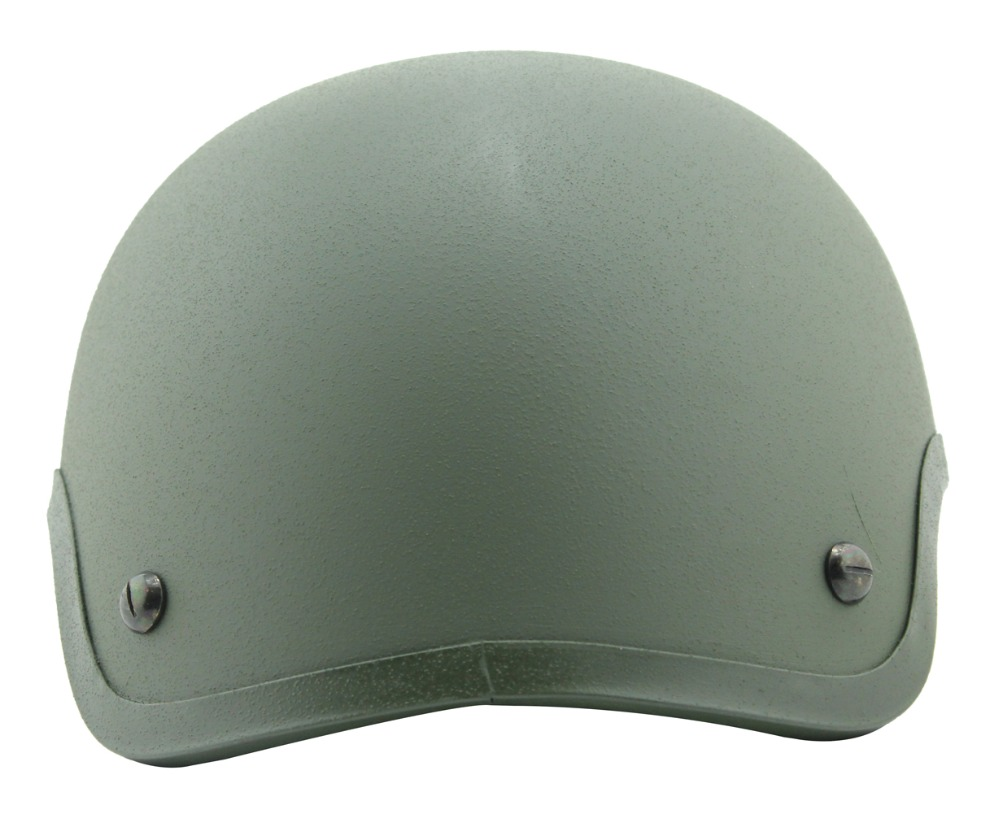 helmet Mich 2001 Military Cover ballistic helmet Airsoft Army Helmet kevlar  Standard -version Green Color <br>