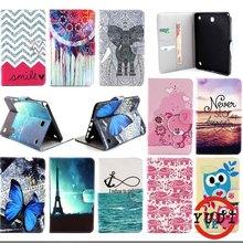Print Design case for Galaxy Tab A 8.0 Кожаный чехол для Samsung Galaxy Tab A 8.0 SM-T350 T351 Tablet Аксессуары Y4D69D