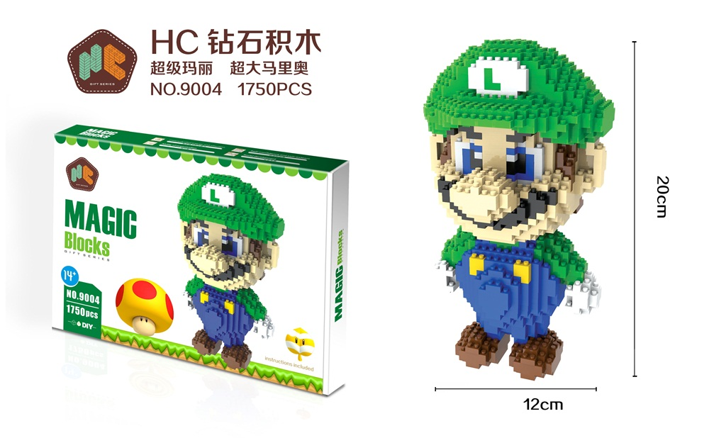 HC Magic blocks Luigi 9004-1
