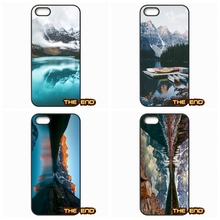Approaching Storm Moraine Lake Canada Phone Covers Capa For iPhone 4 4S 5 5C SE 6 6S 7 Plus Galaxy J5 A5 A3 S5 S7 S6 Edge