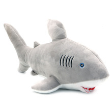 1Pc 51cm Great White Shark Plush Toy Jaws Stuffed Animal Toy Doll Kids Birthday Gift(China)