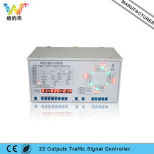 Non Internet 22 outputs Road Junction Traffic Signal Controller(China)