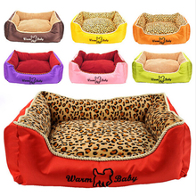 Hot Selling America Brand Square Pet Dog Beds Cat Puppy House  Two Size Offer, JSF-Beds-015
