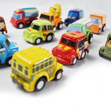 6 pcs/set Pull Back Cars Children Racing Car Baby Learning & Education Toys Cartoon Mini Classic Model Cars Gifts WYQ(China)