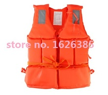 with marine printed label adult safety life vest life jacket life buoy flotation jacket swimming boating Safety Clothing