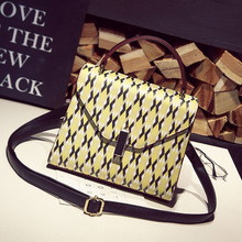 Bailar trend women handbags shoulder messenger women bags printing flap famous brand high quality leather fashion purse