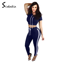 Women 2 Pieces Bodycon Jumpsuit Hoodies Sweatshirt suit set Female Cotton Casual Bodysuit Playsuit Club Tracksuits Set trousers