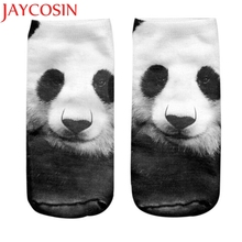 JAYCOSIN Coolbeener 3D Printed Animal Women Casual Socks Cute Cat Unisex Low Cut Ankle Socks Drop Shipping