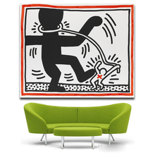 KEITH HARING Untitled 1985 Original Pop ART GICLEE poster oil painting print on canvas free shipping