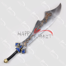 Dynasty Warriors Xiahou Dun/Hsiahou Tun Big Sword PVC Replica Cosplay Prop-0758