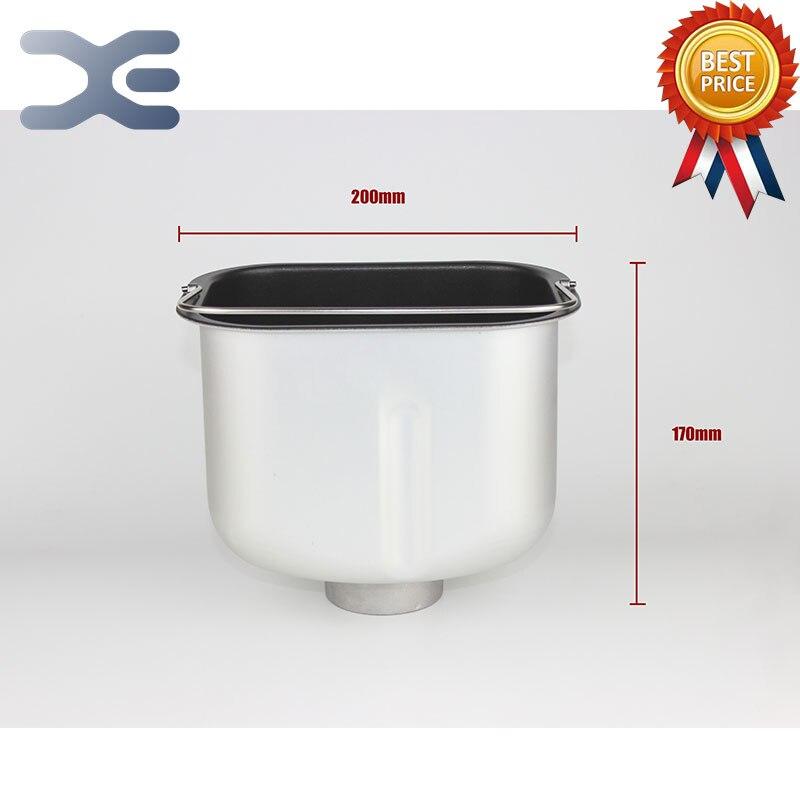 High Quality Bread Machine Original Accessories Barrel Square Base Straight Bread Barrel Not Sticky Pot Liner<br>