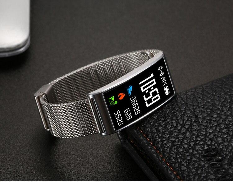 Microwear X3 IP68 Waterproof smart fitness bracelet pedometer blood pressure smart wristband Android iOS fitness tracker 5